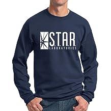 L Official Flash TV STAR Laboratories Mens T-Shirt