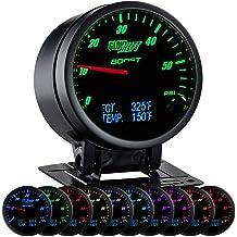 Black Dial Sunpro CP8214 StyleLine Ammeter