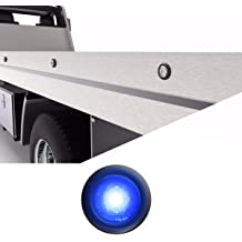 Emergency Vehicles Service Vehicles Plows Construction Trucks Surface Mount Grille Flashing Hazard Beacon Light Blue//Blue SpeedTech Lights Z-3 9W LED Strobe Light for Police Cars