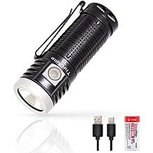Rechargeable Usb Edc Flashlight Thrunite T1 Magnetic Tailcap Pocket Flashlight