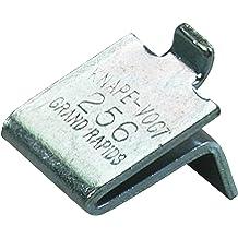 20 Pack Brass Knape /& Vogt 256 Adjustable Steel Pilaster Shelf Support Clip