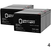 12V Charger Mighty Max 12V 12AH Replacement for Yuasa NP12-12