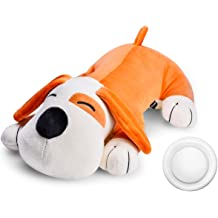 Dog Ansiiety Sleep Toys-Two Heartbeat all for Puppy Puppy Behavioral Aid Heart Beat Warm Toy