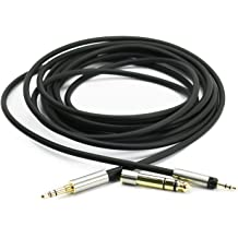 NewFantasia Replacement Audio Upgrade Cable for Sennheiser HD598 HD558 HD518
