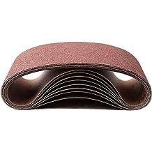 """10 PACK 1/"""" x 42/"""" Inch 120 Grit Zirconia Metal Grinding Sanding Belts"""