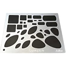 Lapidary Jewelry Design Template Stencil Tranquil Cabtopia
