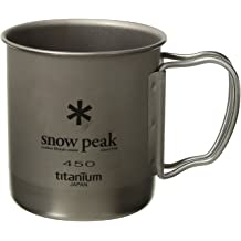 Japanese Titanium SCS-0044TR Ultralight and Compact for Camping and Backpacking Lifetime Product Guarantee Made in Japan Snow Peak Titanium Mini Solo