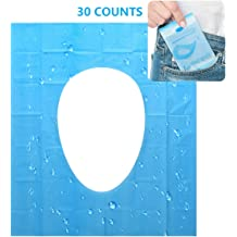 Toilet Seat Covers,250 Sheets,Paper Flushable Hygiene Disposable Sanitary Travl