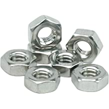 18-8 #4-40  Stainless Steel Finished Hex Nuts 304 Qty 100