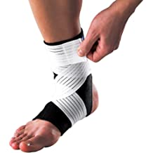 Ankle Support- Ankle Brace for Sport LP SUPPORT 504 Breathable Material for Sweat Dissipation- Compression for Ankle Relief for Ankle Sprain and Painful Joints S