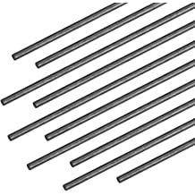 and More Carbon Fiber Rods 2mm x 1000mm for Kites Includes 5 Rods. RC Airplanes