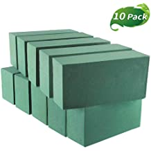 and Projects Floral Supply Online Dry Floral Foam for Artificial Flowers Permanent botanicals Crafts Pack of 6 Bricks.