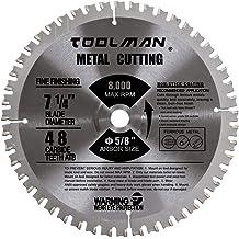 "Toolman Circular Saw Blade Universal Fit 4/""1//2/"" For Cutting Metal Aluminum Steel"
