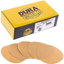 "800 Grit DURA-GOLD 6/"" PSA Discs DA Sander Sandpaper Roll Sanding 50 Sheets"