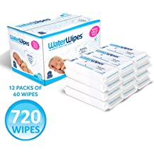 60 Count by DermaH2O pack of 2 WaterWipes Baby Wipes