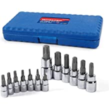 Torx Star Extra Long Screwdrivers T10 T30 Total Length 260mm 6pc Set