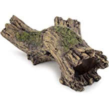 "SHIP FROM USA 6/"" tall Resin Aquarium Hollow Tree Trunk Decoration// Ornament"