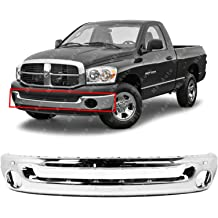 FO1057292 MBI AUTO Primered Front Upper Bumper Top Pad for 2005-2007 Ford F250 F350 Super Duty 05-07