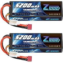 2 Traxxas 2843X 2S 7.4V 5800mAh 25C LiPo Battery w// iD Connector
