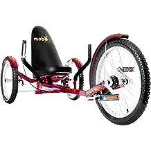 "MoboTriton 16/"" 3 wheels Cruiser Recumbent Trike Adjustable back Black For youth"