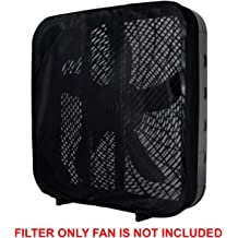 Biodegradable Dust PollenTec MERV 8 Tower Fan Air Filters Pollen Mold Spores and Pet Dander Compatible with Honeywell HYF 260B 290B Models Made in The U.S.A. Electrostatic Design 3 Pack