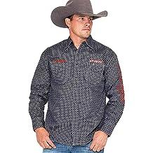 Wrangler Men/'s PBR Logo Long Sleeve Shirt MHS228M FREE SHIPPING