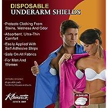 Premium /& Odor Free Garment Antiperspirant Guards 20-Pcs Disposable Underarm Sweat Pads Armpit Deodorant Dress Shields Axilla Clothes Protectors//Patches//Liners for Men Women Kids