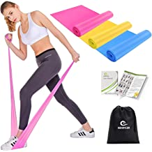 Set of 4 Resistance Elastic Bands for Dailyfit Natural Latex Exercise Flexbands