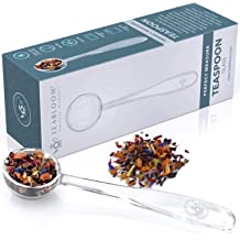 1 ARRIVEOK 2pcs Traditional Wooden Tea Spoon Sugar Scoop Home Living Matcha Powder Handmade Wood Handle Tea Tool
