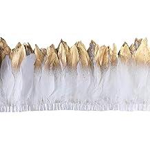 Multicolor 10 yd//5 Expo International Feather Fringe Trim