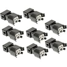Pack of 8 CENTAURUS LQ4 LQ9 4.8 5.3 6.0 Delphi wire Harness to LS2 LS3 LS7 EV6 Injector Adapters