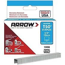 Arrow Fastener 256 Genuine T25 3//8-Inch Staples 1,000-Pack