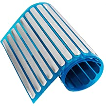 Blue and Green 12 Pieces Nose Stop Clips Nose Nasal Stopper Clips Plastic Foam Nose Clips for Accidental or Emergency Condition