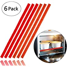 Norpro NOR-1229 Silicone Oven Rack Push//Pull Red