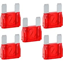 5 Pack of 40 Amp 40A Large Blade Style Audio Maxi Fuse for Car RV Boat Auto
