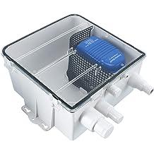 Shower Sump System Pump Drain Kit,12V  750GPH Multi-port Inlet for Caravan//Boat