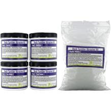 5 Batches WireJewelry 4 Step Rock Tumbler Abrasive Grit and Polish Kit
