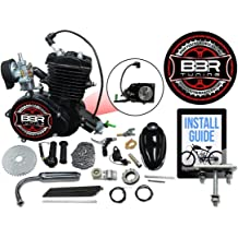 Gas Bike Throttle Assembly Upgrade BBR Tuning 2 Stroke//4 Stroke Motorized Bicycle Billet Aluminum Throttle Grip and Kill Switch Set Blue