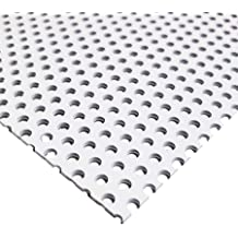 "Carbon Steel Perforated Sheet 0.060/"" x 12/"" x 12/"" 9//64/"" Holes"