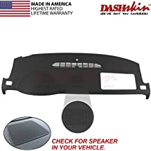 Chevrolet Colorado 2015-2019 No FCA Carpet Dash Cover Mat Grey