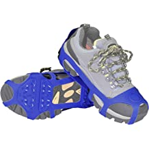 ORIENTOOLS Steel Traction Grips Cleats for Shoes /& Boots 1-Pair, Size: S//M and L//XL Suitable for Everyday Outdoor Ice//Snow//Mud Safety Walking