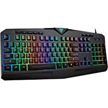 DREVO Calibur V2 RGB 60/% Wired Mechanical Gaming Keyboard Black Detachable USB Type-C Outemu Red Switch 71-Key Small Compact Work for PC//Mac