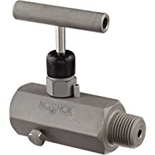 1 Normally Closed 1//8 NPT Male 5-30 psi Pressure Range NOSHOK 100 Series Brass Miniature Low Pressure Mechanical Switch - 2 A