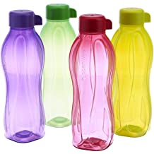 Tupperware Eco Sport Water Bottle Flip Top 1/Ltr 4pcs by