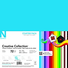 Brilliant Blue 8.5 by 11 Darice Coredinations Value Pack Cardstock 50 Pack