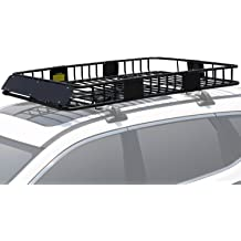 LT Sport 769553139444 Roof Rack Top Frame Mount Cargo Carrier Cross Bars