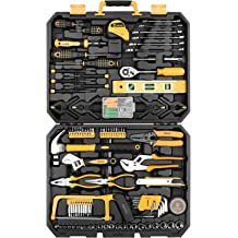 Cartman Pink 39-Piece Tool Set General Household Hand Kit with Plastic...
