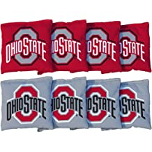 8 Bags Victory Tailgate Regulation Collegiate NCAA Vintage Series Cornhole Board Set 2 Boards 600+ Teams Available