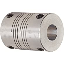 3-1//8 Length Stainless Steel Ruland CLX-18-18-SS One-Piece Clamping Rigid Coupling 1-7//8 OD 1-1//8 Bore A Diameter 1-1//8 Bore B Diameter