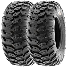 4 Set of 22x7-11 /& 22x7-10 ATV Knobby XC Sport 6 Ply Tires A027 by SunF